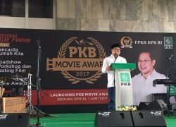 Launching PKB Movie Award 2017, Cak Imin Bikin Vlog Pertamanya