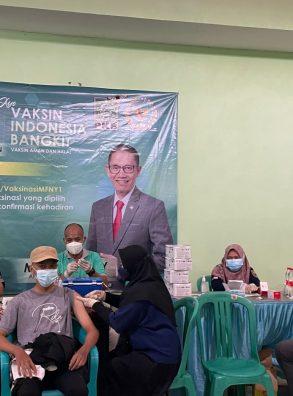 Warga Batang Antusias Mengikuti Vaksin Indonesia Bangkit